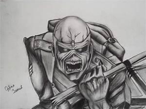 Iron Maiden - Eddie by Goldahe on DeviantArt