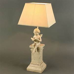 Shabby Chic Lampe : table lamp angel 60cm table lamp shabby chic lamp cottage style table lamps ebay ~ Eleganceandgraceweddings.com Haus und Dekorationen