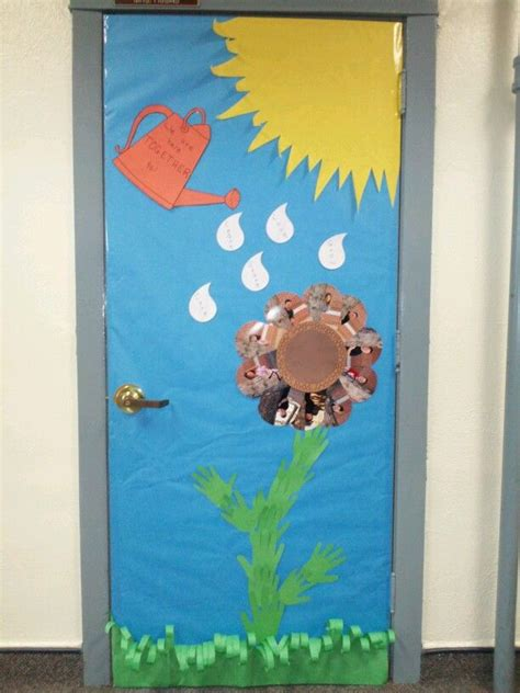 spring classroom door decoration classroom ideas pinterest