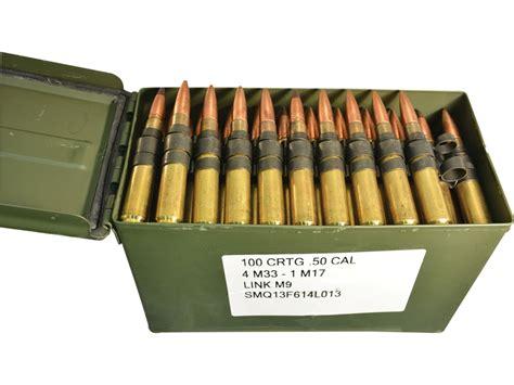 Military Surplus Ammo 50 Bmg Full Metal Jacket