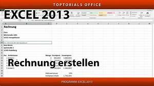Rechnung    Quittung Erstellen Ganz Einfach  Excel