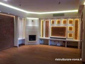 lavoro librerie roma pareti attrezzate cartongesso lavori in cartongesso roma