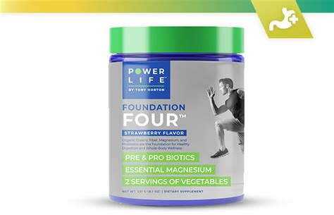 Foundation Four: Power Life Nutrition by Tony Horton