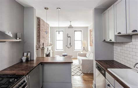 refined monochromatic rental apartment   york city