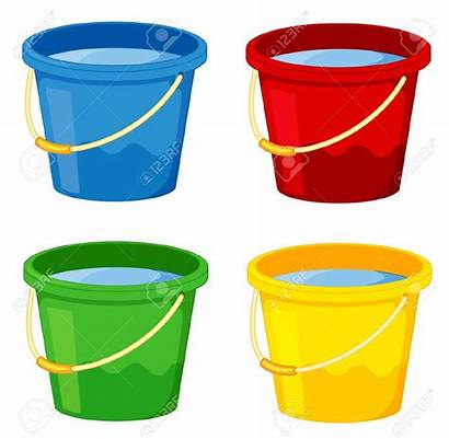 Bucket Water Pail Clipart Cartoon Cliparts Clipartmag