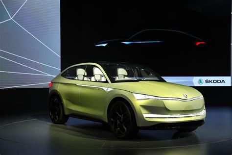 Wallpaper Skoda Vision E, Electric Car, Shanghai Auto Show