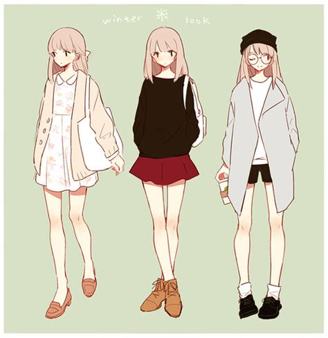 (15) Tumblr | Lookbook | Pinterest | Anime Manga clothes and Character art
