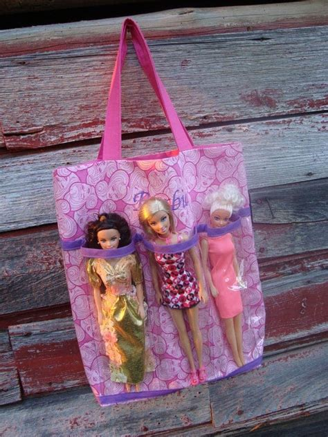 items similar  embroidered barbie tote bag  etsy