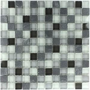 Schiefer Fliesen Grau : glas schiefer mosaik grau mix ~ Michelbontemps.com Haus und Dekorationen
