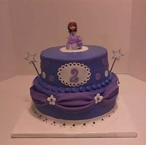 Sofia The First Birthday Cake - CakeCentral com