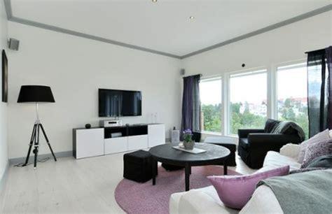 black  white swedish house design