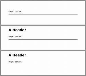 Header And Footer Tips DocRaptor Blog