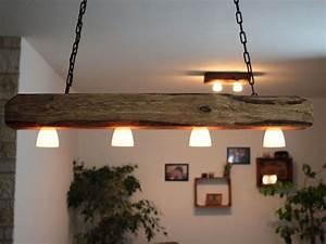 Led Lampe : h ngelampe deckenlampe lampe rustikal holz holzbalken led vintage shabby holz lampen ~ Eleganceandgraceweddings.com Haus und Dekorationen