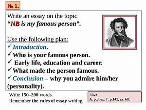 how to write an essay about a person you admire