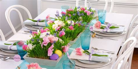 Easter Home Decor Styling: Easter Brunch: How To Simply Decorate Your Table