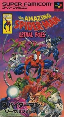 amazing spider man lethal foes wikipedia