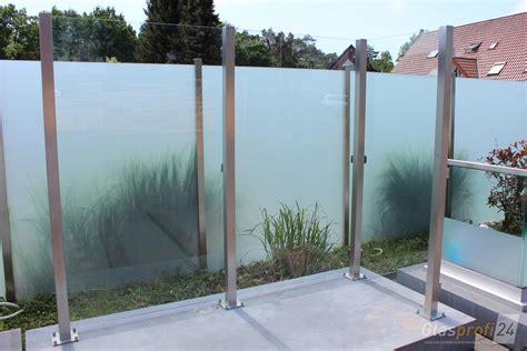 Sichtschutz Garten De by Sichtschutz Im Garten Aus Glas Glasprofi24