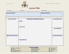 tn music lesson plan template free my elementary music lesson plan template