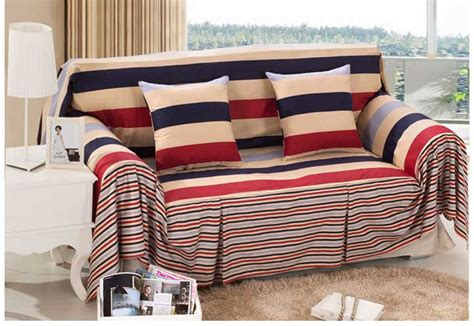 sofa slip covers on sale sale cotton striped sofa cover modern style sectional