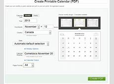How to Create a PDF Calendar Online