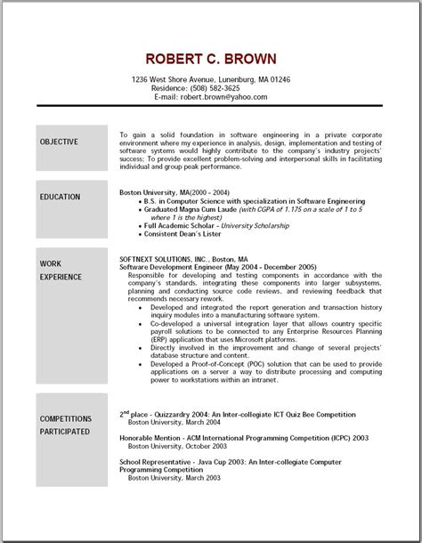 Lvn Resume Exles by Objectives For The Resume Stunning Debusschere A