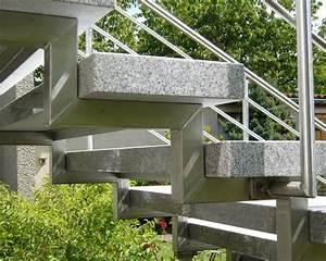 Betontreppe Sanieren Aussen : treppe treppen stufe au entreppe freitragend granit cristall geflammt 120 35 8cm bauen und ~ Frokenaadalensverden.com Haus und Dekorationen
