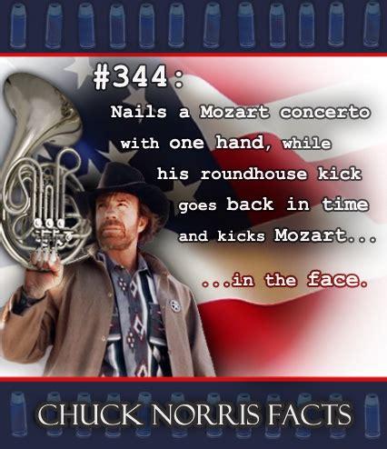 French Horn Memes - chuck norris fact moart