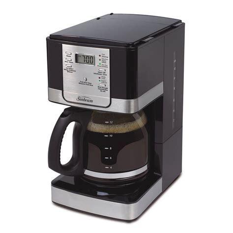 Sunbeam 12 Cup Programmable Steel Coffeemaker   Lowe's Canada