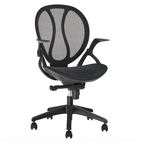langria mid back swivel mesh office chair executive