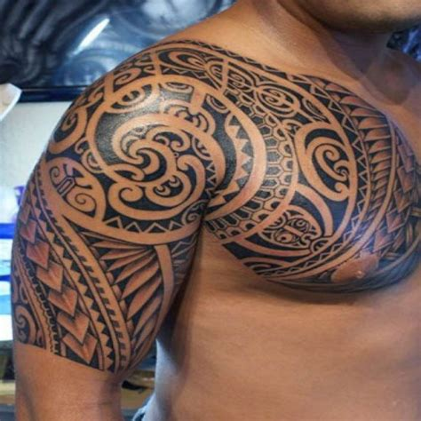 Tatouage Maorie Pectoraux  Fashion Designs