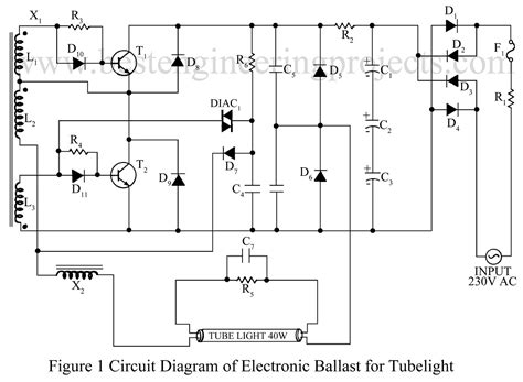 Electronic Ballast Circuit Engineering Projects