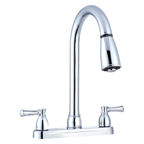 Kitchen Faucets Two Handle by Dura 174 Rv Kitchen Pull Two Handle Faucet Cerid