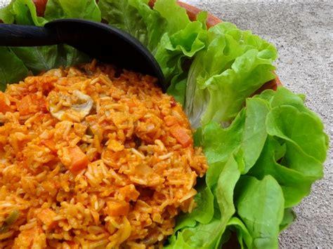 recette riz cuisiné riz jollof recette du cameroun la tendresse en cuisine