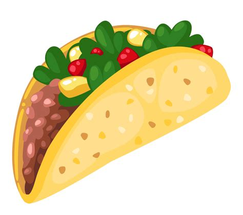 Tacos Clipart Clipart Taco Pencil And In Color Clipart Taco