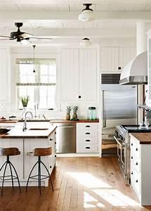 cuisine blanche 22 idees tendances 2018 pour votre With awesome meuble de cuisine rustique 6 couleur peinture cuisine 66 idees fantastiques