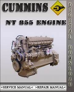 Cummins Nt 855 Engines Troubleshooting And Factory Service