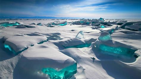 ️ Icy Lake Baikal Russia Hd Wallpaper Wallpaper Studio