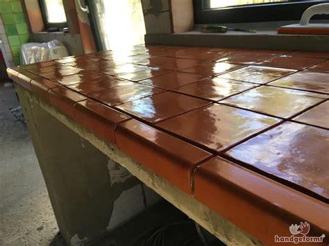 Arbeitsplatte Küche Fliesen by Arbeitsplatten Fliesen F 252 R Die K 252 Che Handgeformt