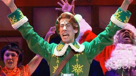 scenes  elf  musical  broadway video