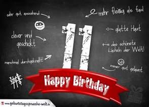 sprüche zum 11 geburtstag komplimente geburtstagskarte zum 11 geburtstag happy birthday geburtstagssprüche welt