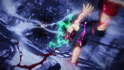 Hero Academia Boku Deku Vs Muscular Midoriya