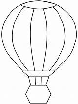 Balloon Coloring Air Pages Transportation Drawing Line Birthday Printable Ballon Sheet Getdrawings Sky Wickedbabesblog sketch template