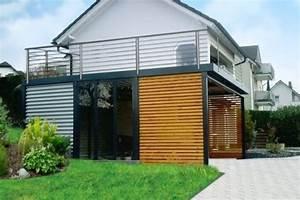 Haus Mit Dachterrasse : carport terrasse carport ~ Frokenaadalensverden.com Haus und Dekorationen