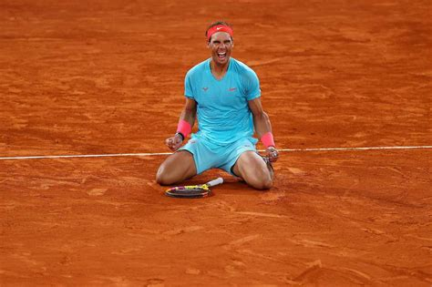 Rafael Nadal wins French Open for 20th Grand Slam title