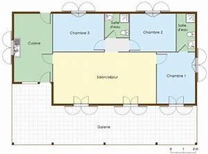 plan maison en bois creole With charming construire sa maison 3d 7 maison darchitecte 1 detail du plan de maison d