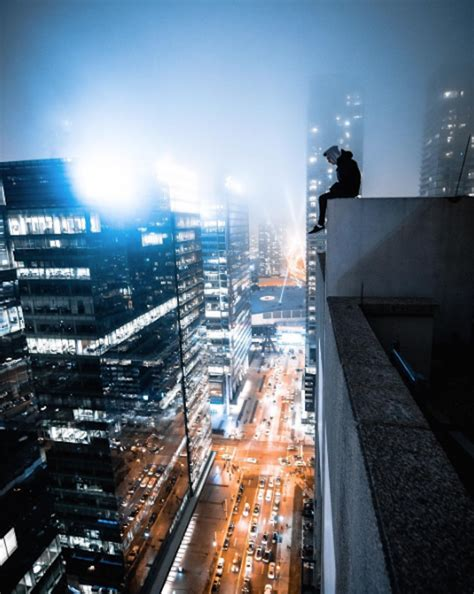 rooftopping photographer captures incredible unseen views