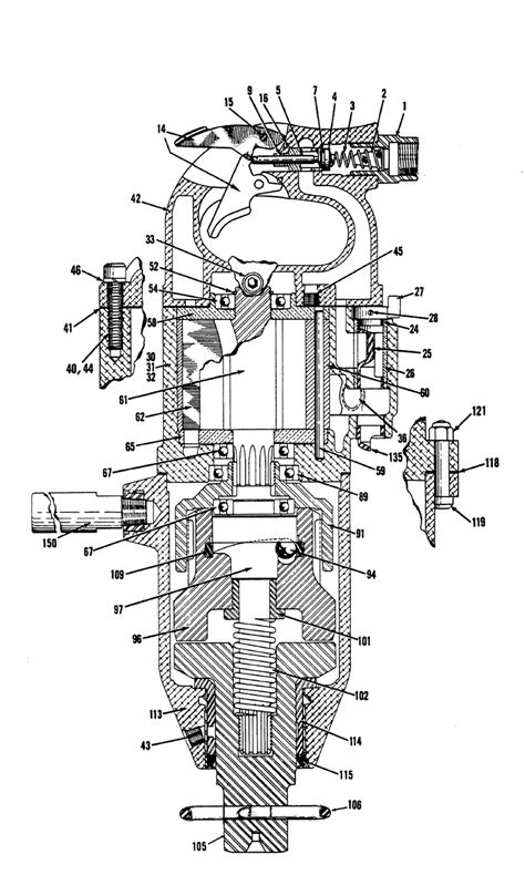 Chicago Pneumatic CP0614-GALED Parts List | Chicago