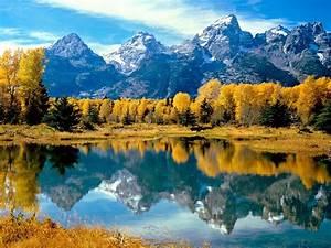 Autumn Grandeur Grand Teton National Park Wyoming