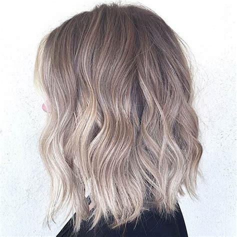balayage braun grau graue haare ombre 27 lange bob frisuren sch 246 ne l 246 b