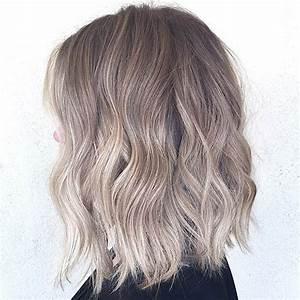 Blond Grau Haarfarbe : graue haare ombre 27 lange bob frisuren sch ne l b frisuren f r frauen bob mode ~ Frokenaadalensverden.com Haus und Dekorationen